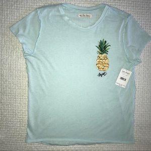 FREE PEOPLE Pineapple T-shirt